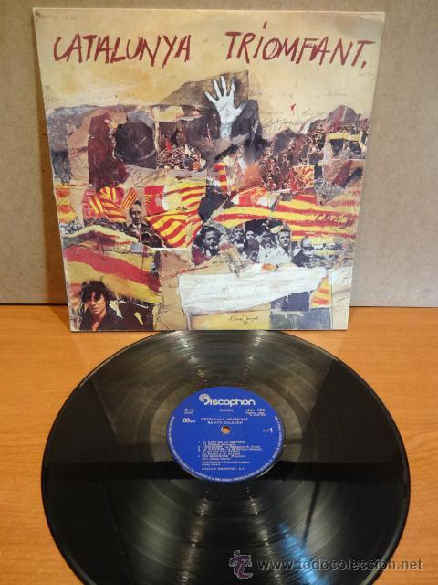 RAMÓN CALDUCH. CATALUNYA TRIOMFANT. LP / DISCOPHON - 1976. BUENA CALIDAD. ***/*** (Música - Discos - LP Vinilo - Solistas Españoles de los 70 a la actualidad)