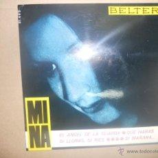 Discos de vinilo: MINA (EP) EL ANGEL DE LA GUARDA AÑO 1965. Lote 48275651