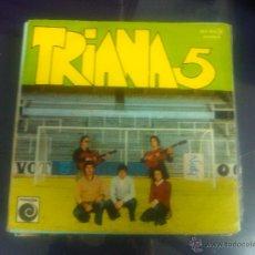 Dischi in vinile: TRIANA 5 - LA PRIMERA COPA + UN ROCIO DIFERENTE. Lote 48276057