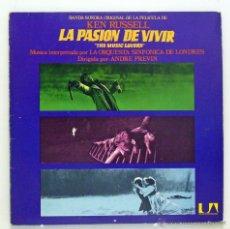 Discos de vinilo: VARIOS - 'KEN RUSSELL: LA PASION DE VIVIR ' (LP VINILO. ORIGINAL 1971). Lote 48277167
