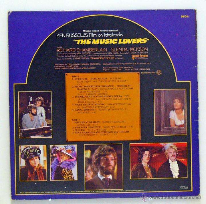 Discos de vinilo: Varios - Ken Russell: La Pasion De Vivir (LP Vinilo. Original 1971) - Foto 2 - 48277167