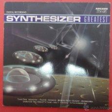 Discos de vinilo: SYNTHESIZER. GREASTEST. Lote 48280101