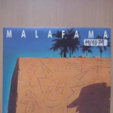 Discos de vinilo: MALA FAMA - CIRCUITO ROCK - SINGLE GENERALITAT VALENCIANA 1991. Lote 48280176