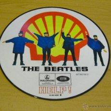 Discos de vinilo: THE BEATLES - HELP! (LP VINYL PICTURE DISC, 1965 EMI RECORDS). Lote 173454235