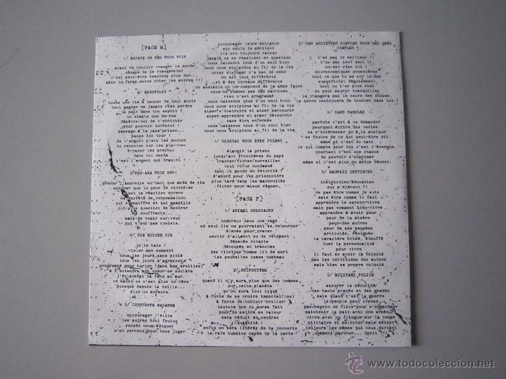 Discos de vinilo: EP - H.C-CRUST - MICHEL PLATINIUM - 2008 - IMPORTACIÓN - FRANCIA - Foto 3 - 48286102
