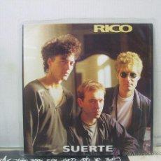 Discos de vinilo: RICO - SUERTE - PROMO - POLYGRAM 1991. Lote 48288179