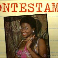Discos de vinilo: LP GWEN PERRY : CONTESTAME ( WHO ARE YOU ) RAMON FARRAN , LUCIA GRAVES. Lote 48288507