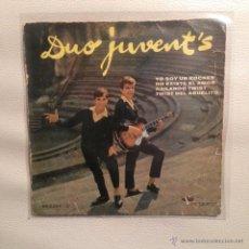 Discos de vinilo: EP DUO JUVENTS - 1962 YO SOY UN ROCKER + 3. Lote 48289916