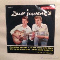Discos de vinilo: EP DUO JUVENTS - 1963. Lote 48289924