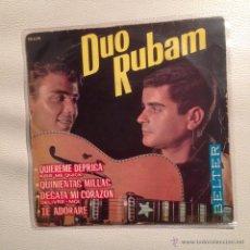Discos de vinilo: DUO RUBAM - EP 1963. Lote 48290005
