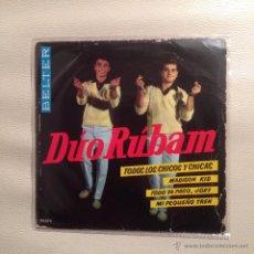 Discos de vinilo: EP DUO RUBAM - 1963. Lote 48290011