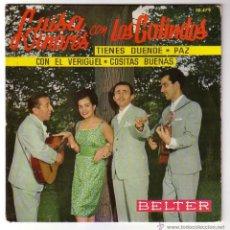 Discos de vinilo: LUISA LINARES CON LOS GALINDOS.EP BELTER.1961. Lote 48294764