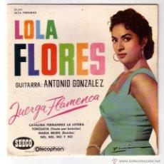 Discos de vinilo: LOLA FLORES Y ANTONIO GONZALEZ.EP SEECO-DISCOPHON.1961. Lote 48296590