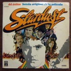 Discos de vinilo: BSO STARDUST - STRAY CATS - DAVID ESSEX - ADAM FAITH. Lote 48298378
