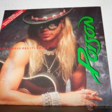 Discos de vinilo: POISON - EVERY ROSE HAS ITS THORN MAXI. Lote 48302586