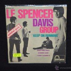 Discos de vinilo: SPENCER DAVIS GROUP - KEEP ON RUNNING +3 - EP FRANCE. Lote 48302694