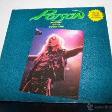 Discos de vinilo: POISON - NOTHIN' BUT A GOOD TIME MAXI. Lote 48303361