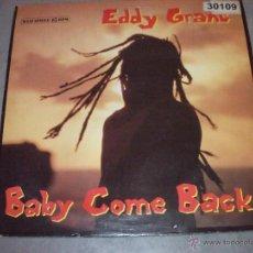 Discos de vinilo: EDDY GRANT - BABY COME BACK - MAXI. Lote 48303549