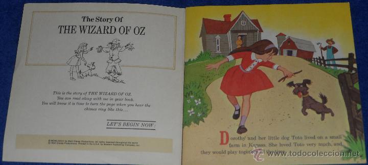 Discos de vinilo: El mago de Oz - See Hear Read - Walt Disney - Disneyland Records (1978) ¡Impecable! - Foto 2 - 48304408