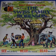 Discos de vinilo: LA FAMILIA SWISS - SEE HEAR READ - WALT DISNEY - DISNEYLAND RECORDS (1971) ¡IMPECABLE!. Lote 48304459