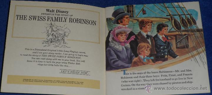 Discos de vinilo: La familia Swiss - See Hear Read - Walt Disney - Disneyland Records (1971) ¡Impecable! - Foto 2 - 48304459