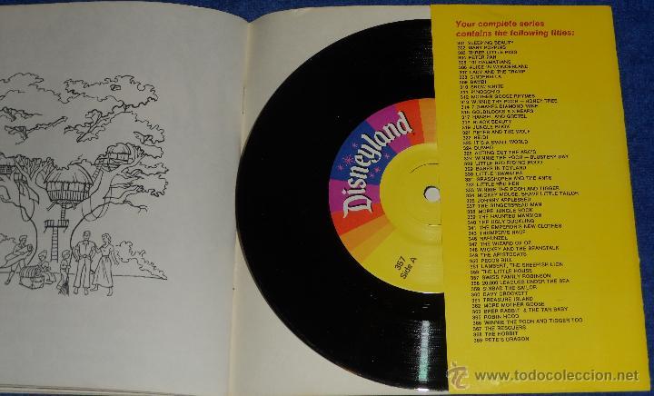 Discos de vinilo: La familia Swiss - See Hear Read - Walt Disney - Disneyland Records (1971) ¡Impecable! - Foto 3 - 48304459