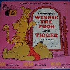 Discos de vinilo: LA HISTORIA DE WINNIE THE POOH Y TIGGER - SEE HEAR READ - WALT DISNEY - DISNEYLAND RECORDS (1968). Lote 48304596