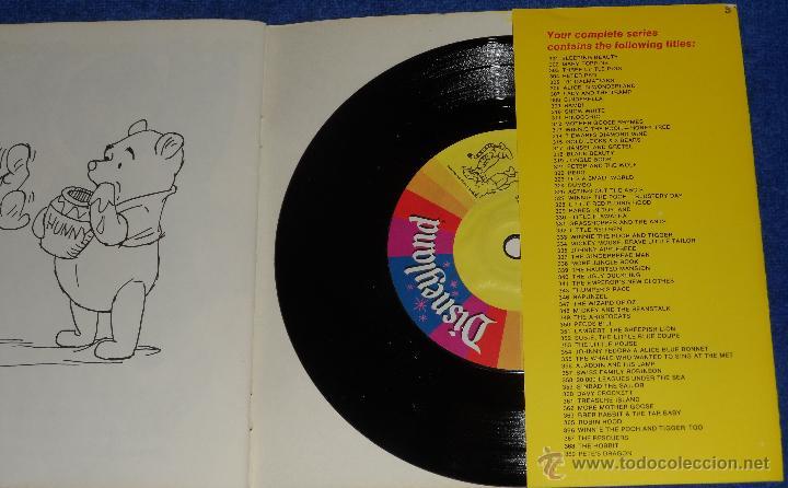 Discos de vinilo: La historia de Winnie the Pooh y Tigger - See Hear Read - Walt Disney - Disneyland Records (1968) - Foto 3 - 48304596