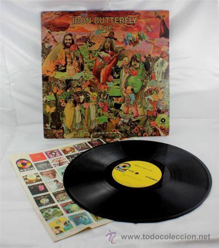 Discos de vinilo: IRON BUTTERFLY / iron butterfly live 1967 ATCO - In-A-Gadda-Da-Vida ..ORIG EDIT USA, !! EXCELENTE !! - Foto 7 - 48304733