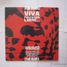 Discos de vinilo: EP - SPLIT - ANARCOPUNK - SARCASMO Y EVOLUCIÓN PERDIDA (VIVA PALESTINA LIBRE) IMPORTACIÓN -MÉXICO. Lote 48305268