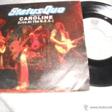 Disques de vinyle: STATUS QUO- SINGLE CAROLINE 1982. Lote 48305350