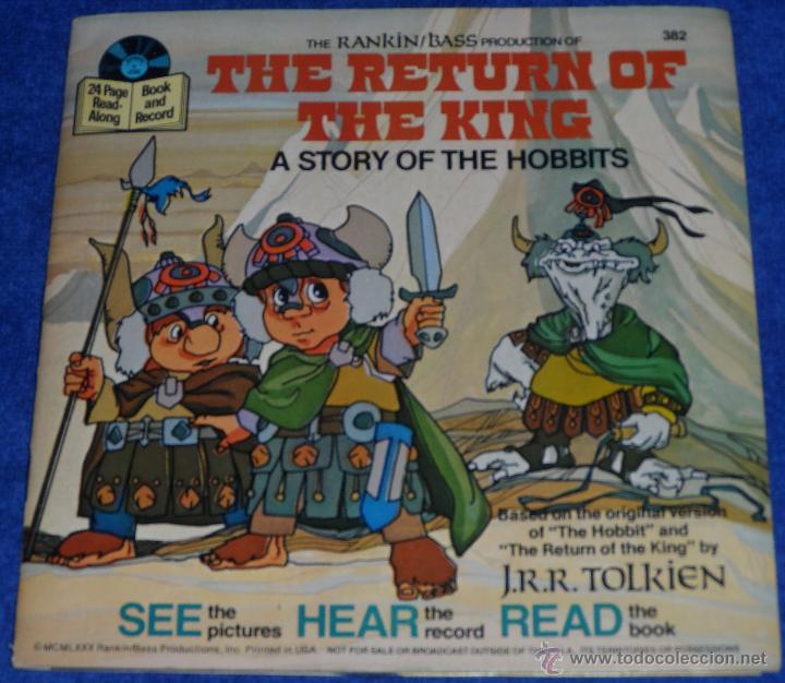 EL REOTORNO DEL REY - SEE HEAR READ - WALT DISNEY - DISNEYLAND RECORDS (1980) (Música - Discos - Singles Vinilo - Música Infantil)