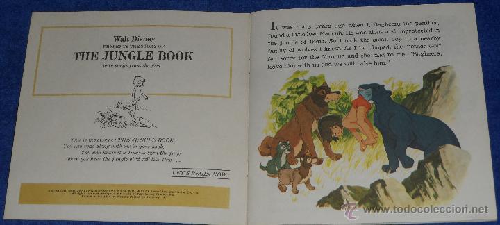 Discos de vinilo: El libro de la selva - See Hear Read - Walt Disney - Disneyland Records (1967) - Foto 2 - 48307414
