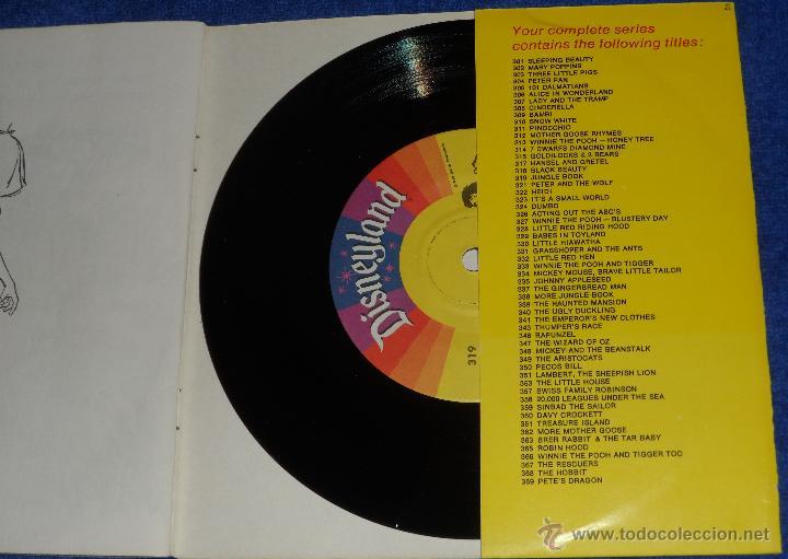 Discos de vinilo: El libro de la selva - See Hear Read - Walt Disney - Disneyland Records (1967) - Foto 3 - 48307414