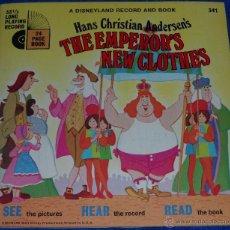 Discos de vinilo: EL TRAJE NUEVO DEL EMPERADOR - SEE HEAR READ - WALT DISNEY - DISNEYLAND RECORDS (1970). Lote 48307438