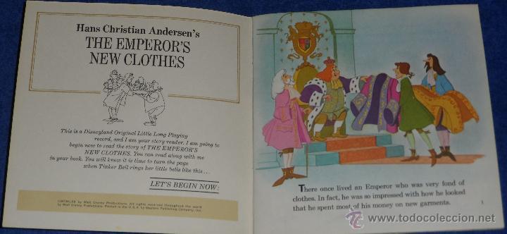 Discos de vinilo: El traje nuevo del emperador - See Hear Read - Walt Disney - Disneyland Records (1970) - Foto 2 - 48307438