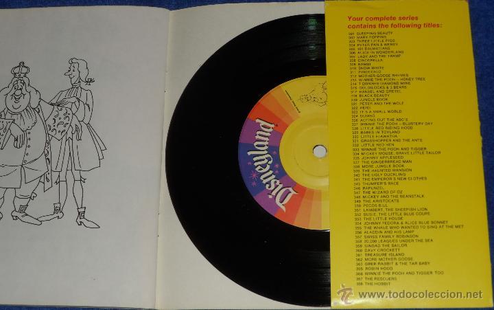 Discos de vinilo: El traje nuevo del emperador - See Hear Read - Walt Disney - Disneyland Records (1970) - Foto 3 - 48307438