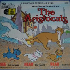 Discos de vinilo: LOS ARISTOGATOS - SEE HEAR READ - WALT DISNEY - DISNEYLAND RECORDS (1970). Lote 48307605