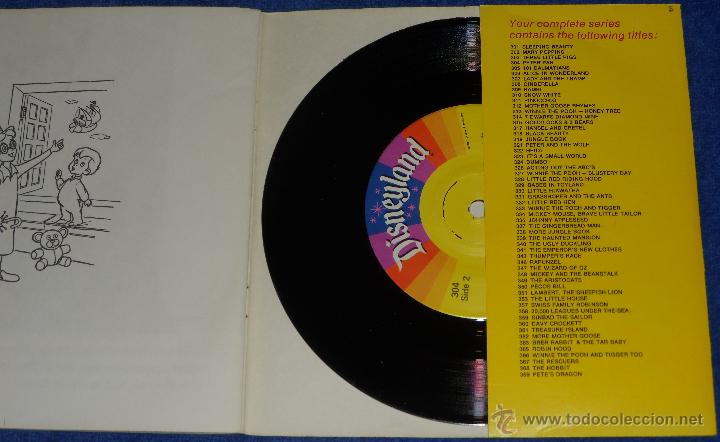 Discos de vinilo: Peter Pan - See Hear Read - Walt Disney - Disneyland Records (1977) - Foto 3 - 48307627