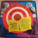 Discos de vinilo: ANNIE GET YOUR GUN. BETTY HUTTON - HOWARD KEEL. MUSICA DE IRVING BERLIN. ESTUCHE CON 4 SINGLES. MGM,. Lote 48317218