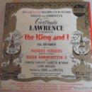 Discos de vinilo: THE KING AND I. YUL BRYNNER. MUSICA DE RICHARD RODGERS. LETRAS DE OSCAR HAMMERSTEIN II. ESTUCHE CON . Lote 48317299
