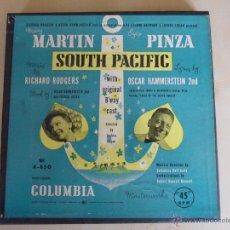 Discos de vinilo - SOUTH PACIFIC. MARY MARTIN - EZIO PINZA. MUSICA DE RICHARD RODGERS. LETRAS DE OSCAR HAMMERSTEIN II. - 48317358
