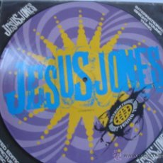 Discos de vinilo: JESUS JONES INTERNATIONAL BRIGHT YOUNG THING PICTURE DISC LIMITED EDITION. Lote 48320158