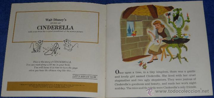 Discos de vinilo: La Cenicienta - See Hear Read - Walt Disney - Disneyland Records (1977) - Foto 2 - 48326349
