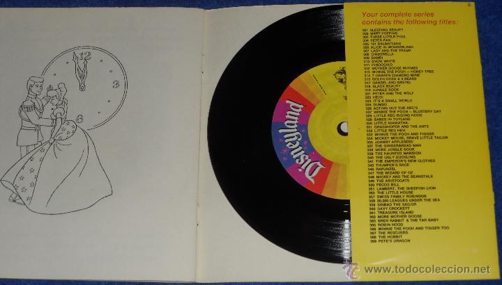 Discos de vinilo: La Cenicienta - See Hear Read - Walt Disney - Disneyland Records (1977) - Foto 3 - 48326349