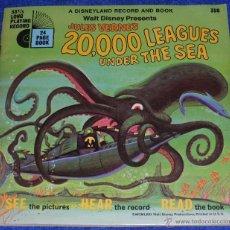 Discos de vinilo: 20000 LEGUAS DE VIAJE SUBMARINO - SEE HEAR READ - WALT DISNEY - DISNEYLAND RECORDS (1971). Lote 48326386