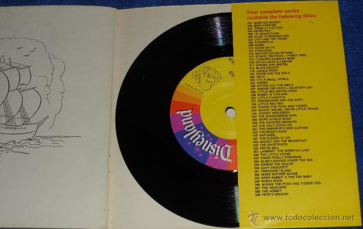 Discos de vinilo: 20000 leguas de viaje submarino - See Hear Read - Walt Disney - Disneyland Records (1971) - Foto 3 - 48326386