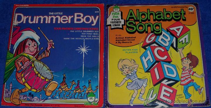 THE LITTLE DRUMMER BOY - ALPHABET - PETER PAN (1975) (Música - Discos - Singles Vinilo - Música Infantil)