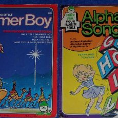 Discos de vinilo: THE LITTLE DRUMMER BOY - ALPHABET - PETER PAN (1975). Lote 48326569