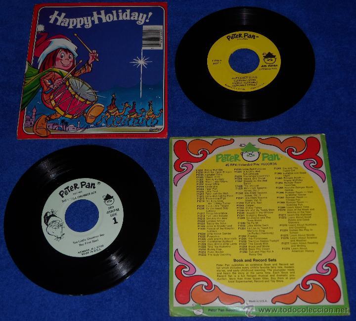 Discos de vinilo: The little Drummer Boy - Alphabet - Peter Pan (1975) - Foto 2 - 48326569